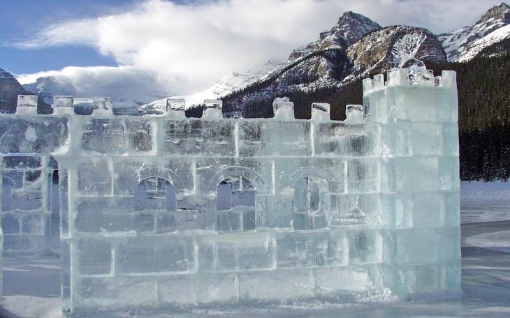 Lake Louise Ice Sculpture